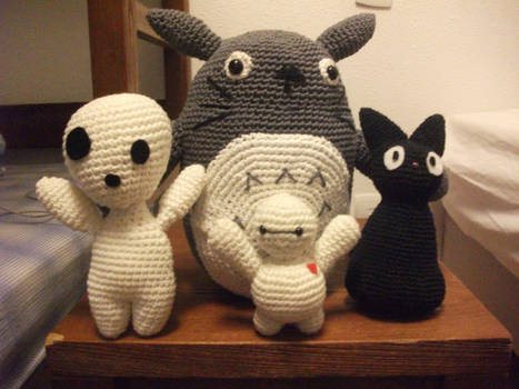 Totoro and his friends !