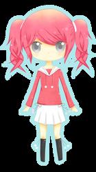 Pink Hair Chibi by Kurumichi