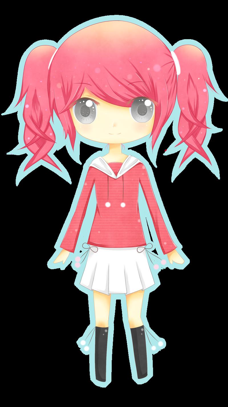Pink Hair Chibi By Kurumichi On Deviantart