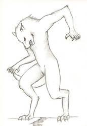 Wolfman by ShiryuOgalunn
