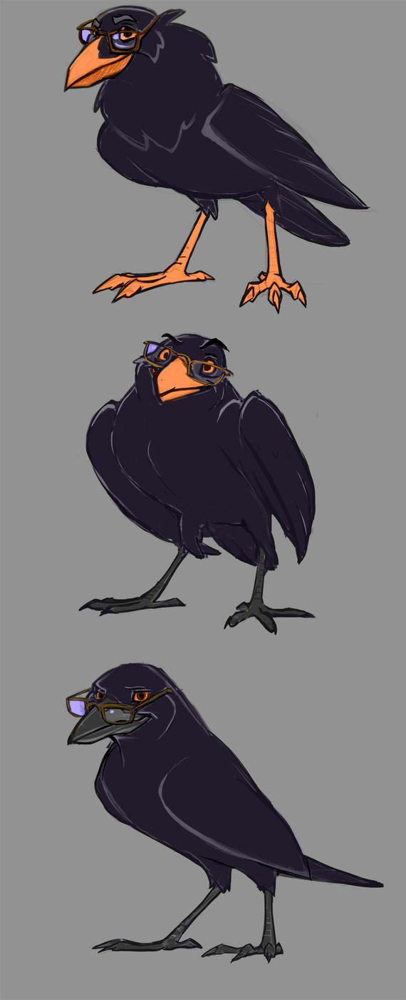 Crows by DoodlesandDaydreams