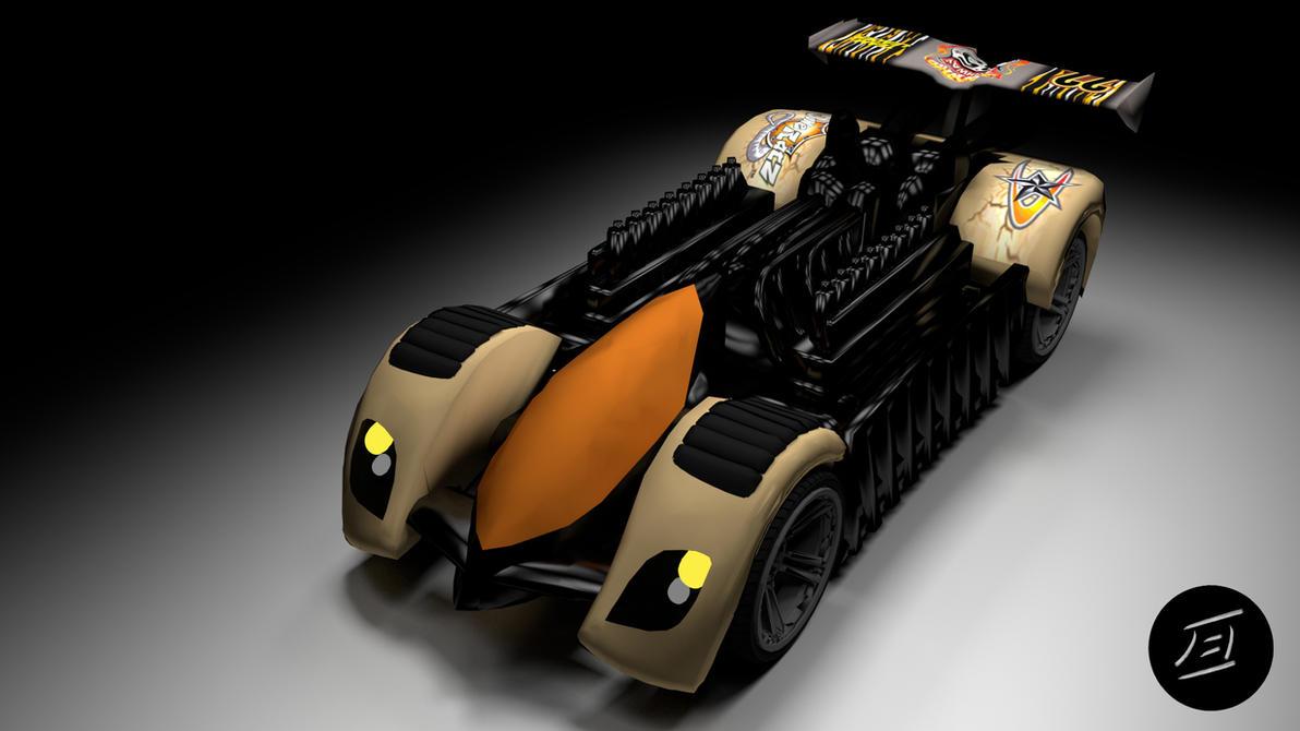 Krazy Car: Krazy 8s Front By Xceptre On DeviantArt