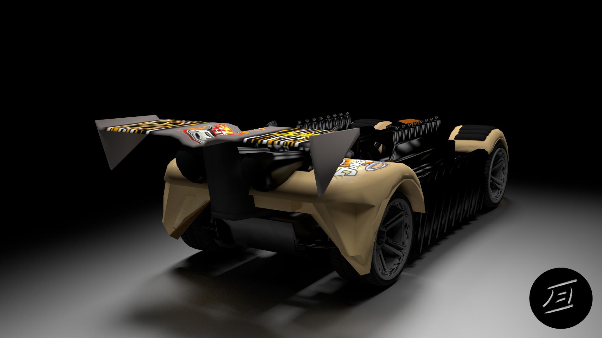 Krazy Car: Krazy 8s Rear By Xceptre On DeviantArt