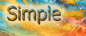 Simple by wolfp2