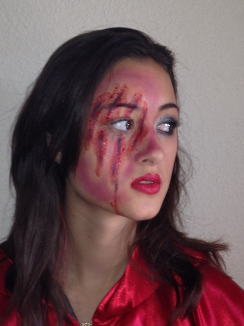 Little Red Riding Hood Makeup By
