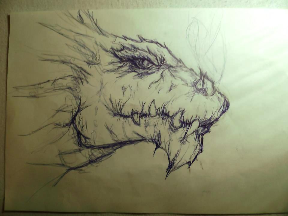 Dragon by xSandra97