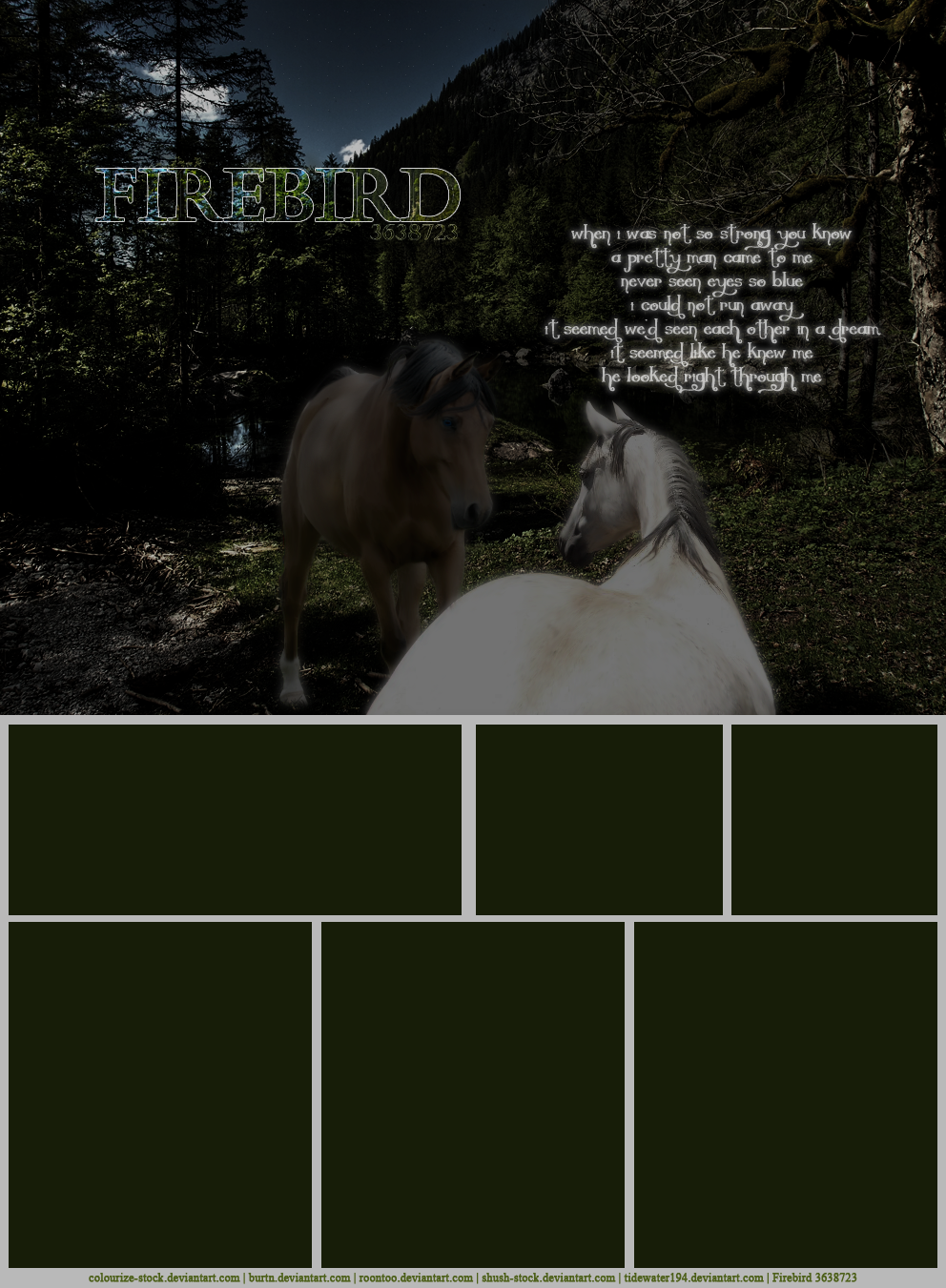Horseland Layout: Magic Man by tidewater194