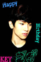 Happy Birthday Key Oppa by shorterthanedelric