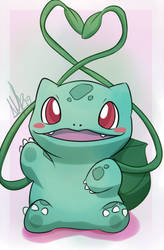 Bulbasaur by WolfRoxy