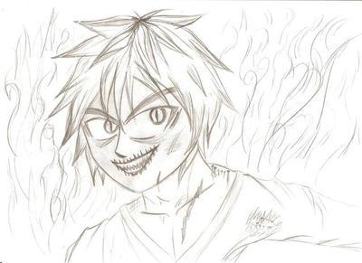 Evil manga vampire by BillyTheMangaMan on DeviantArt