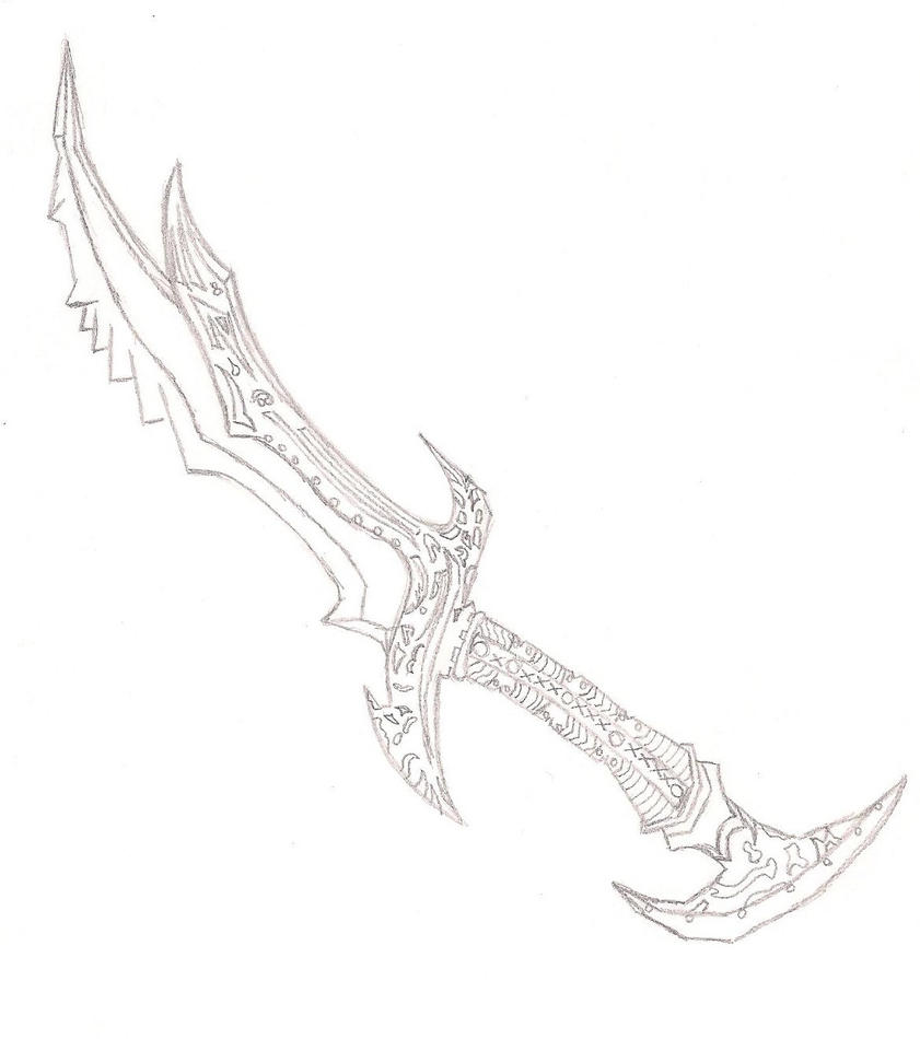 Skyrim weapons free coloring pages for Coloring pages sword