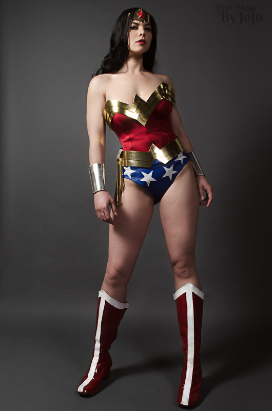 WonderWoman: Beauty in Strength by YourMojoByJojo