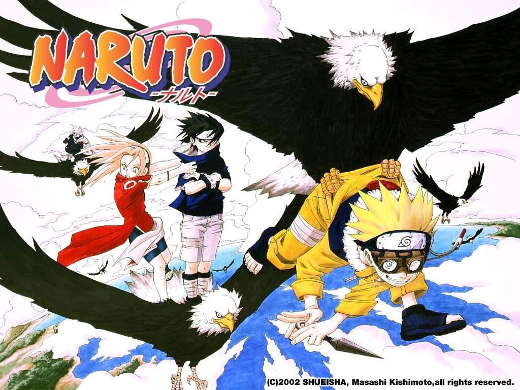 Naruto can fly by Takata