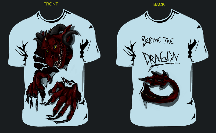 Dragon Tshirt Design For Class By Sweentastic On Deviantart