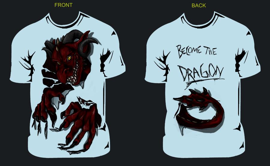 Classroom T Shirt Design ~ Dragon tshirt design for class by sweentastic on deviantart