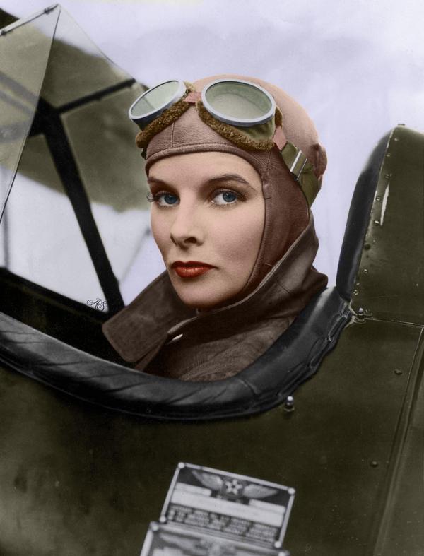 Katharine Hepburn by MlleKohaku