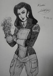 Asami Doodle by CptCuddles