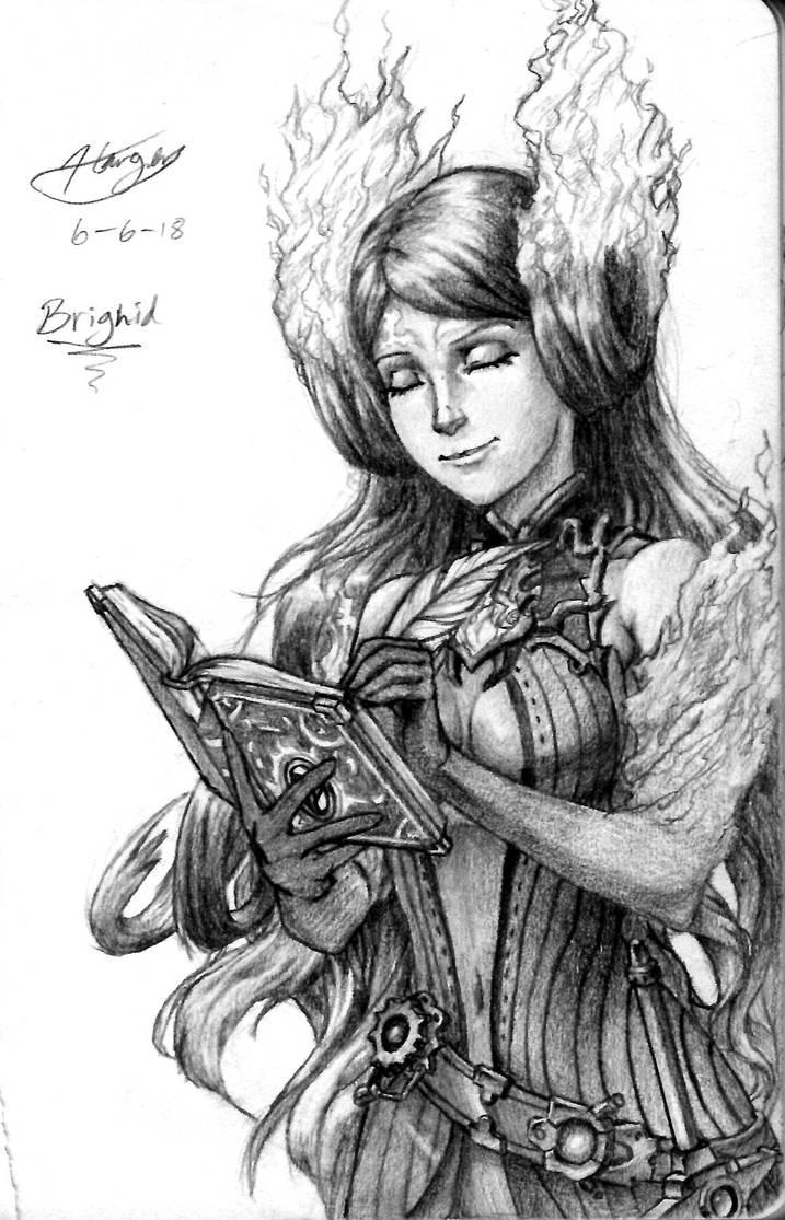 Brighid (Xenoblade 2) by CptCuddles