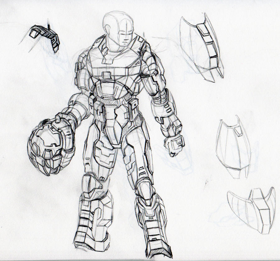 how to draw master chief helmet step by step