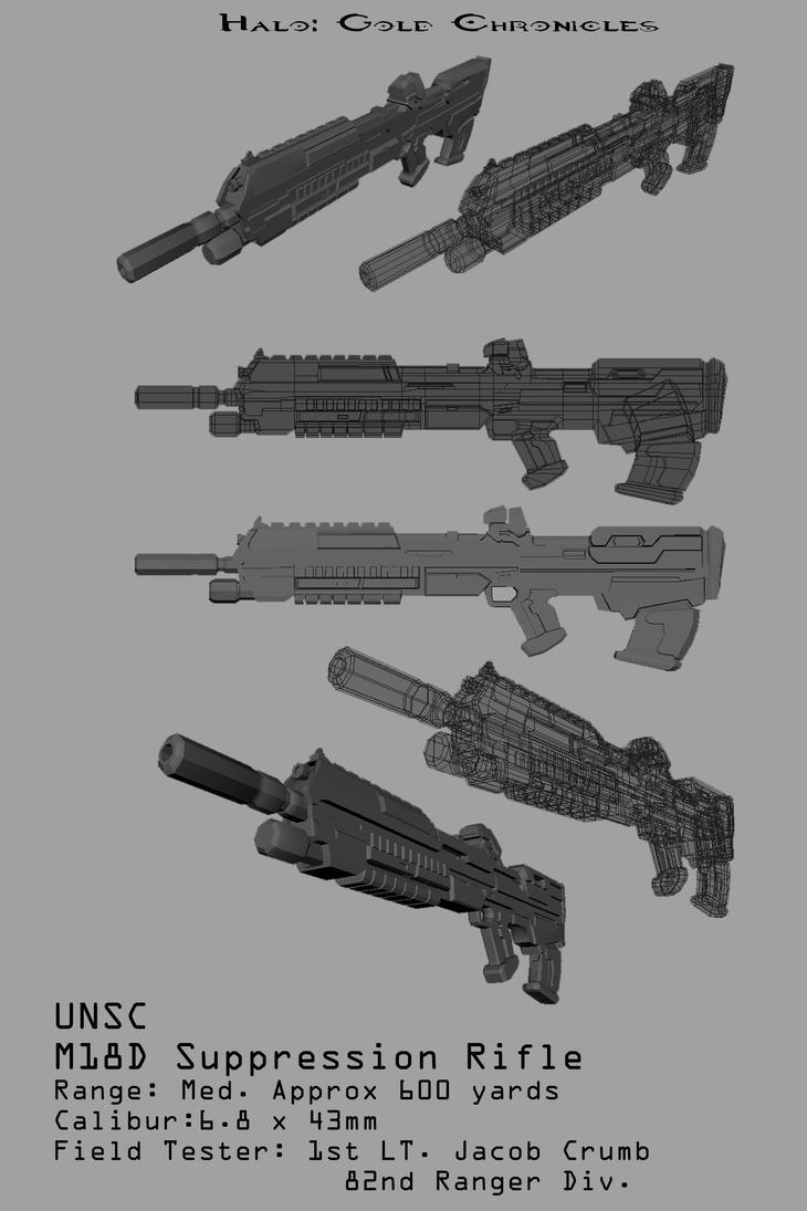 M18D Rifle by Spartan-029