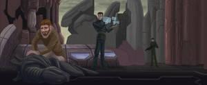 Martian Chronicles: The Plaza