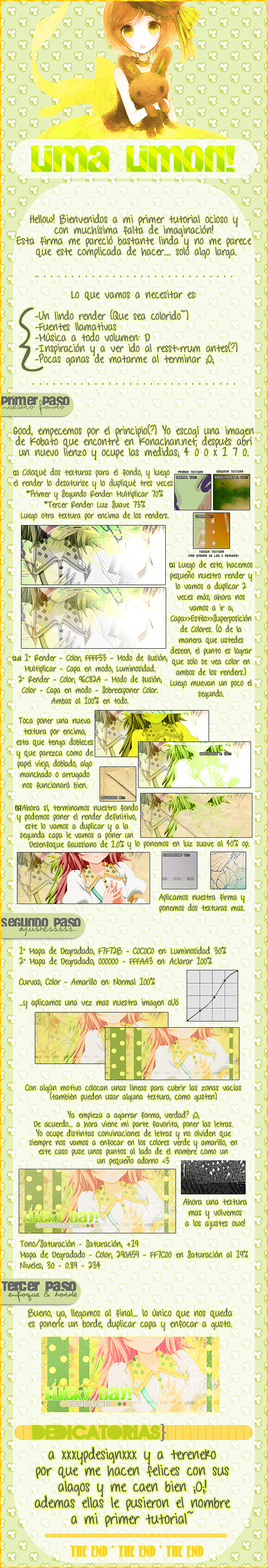Lima-Limon .::Tutorial::. by BawuuKirkland