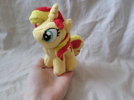 Commission: Mini Sunset Shimmer by ShadowKrafts