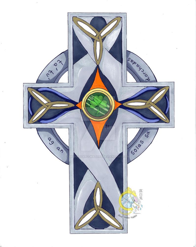 Gaelic Cross With Watermark by Murmaider2-WaterG