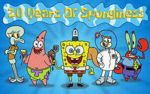 20 Years Of Sponginess by TB7Studios