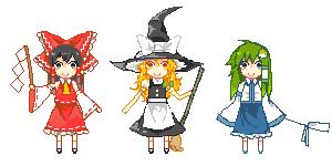 Pixel-3 roles by ferretmalfoy