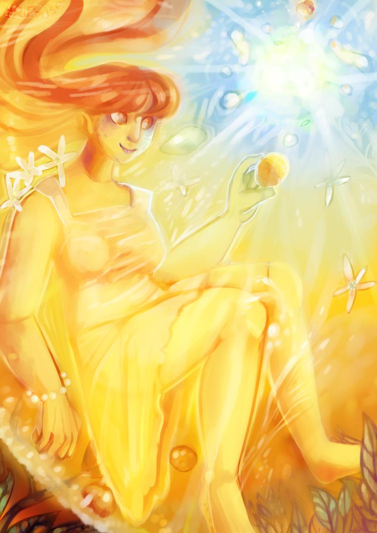 Orange Fairy by ArFaise