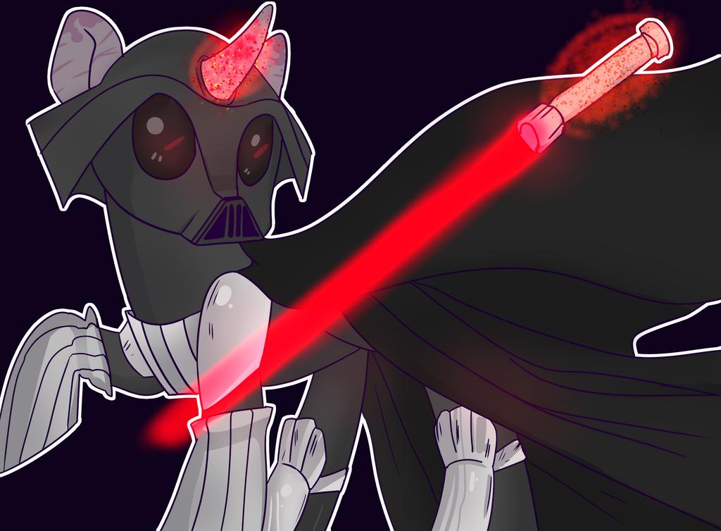Darth Pony by ArFaise