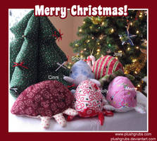 Christmas Grubs 2008 by blushplush