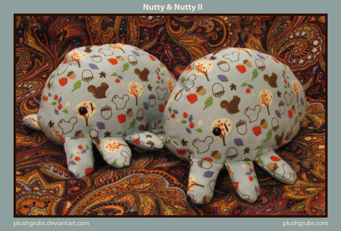 Nutty and Nutty II by blushplush
