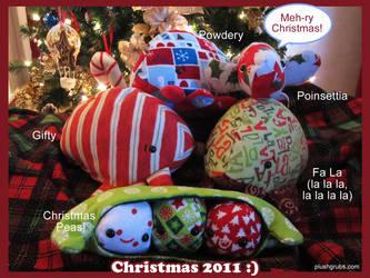 Christmas Plush 2011