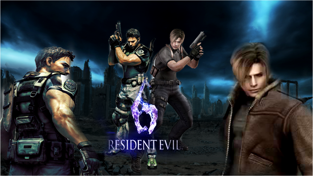 Punkprincess898: Resident Evil 6 Heros By Punkprincess898 On DeviantArt