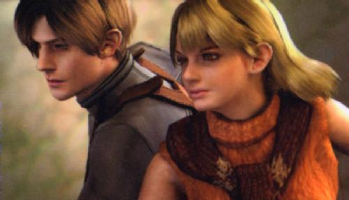 Resident evil 4 leon and ashley kiss