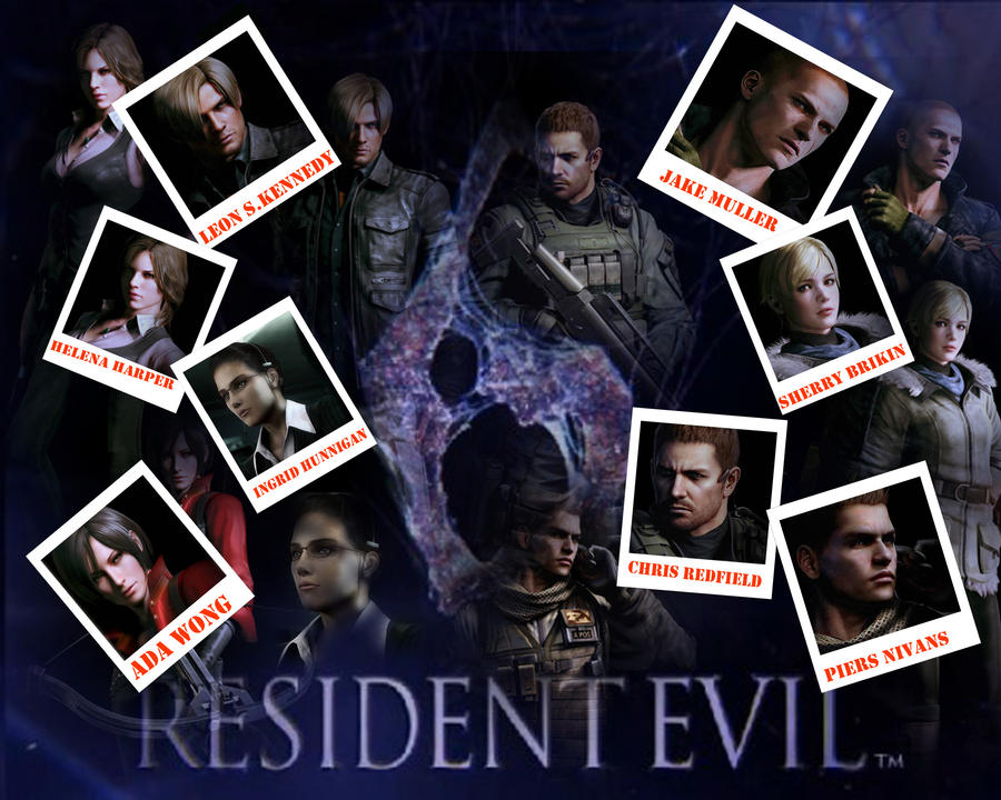 Punkprincess898: Resident Evil 6 Wallpaper By Punkprincess898 On DeviantArt