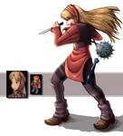 FF Tactics Ninja Female
