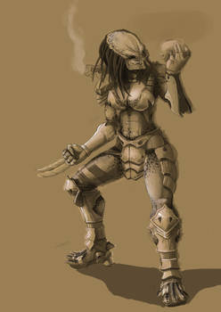 Female Predator -WIP-