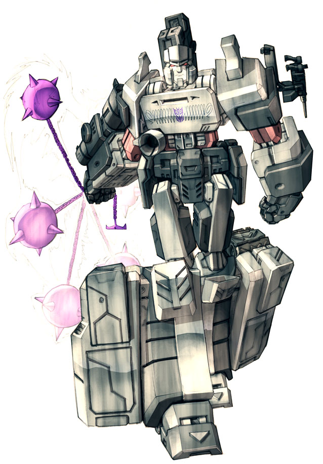 Megatron in colour by Blitz-Wing