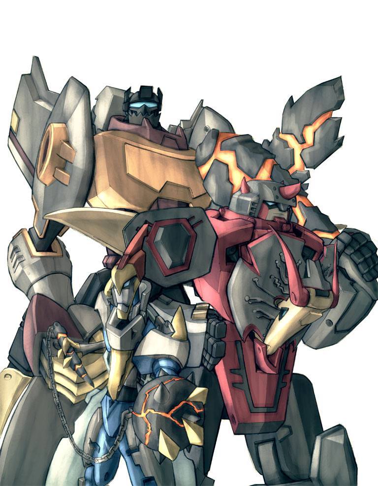 TFA Dinobots in colour by Blitz-Wing