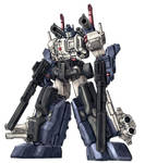 Optimus Prime-Super Mode color