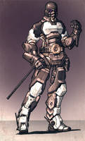 Powered armour 1