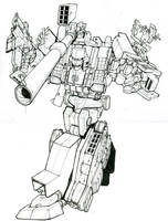 G2 Megatron lines by Blitz-Wing