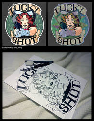 CS:GO Sticker: Lucky Shot by Blitz-Wing