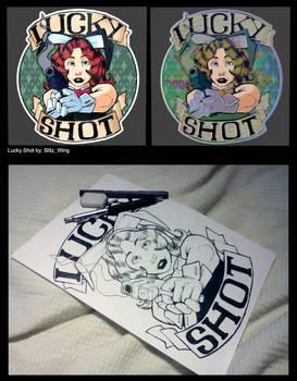 CS:GO Sticker: Lucky Shot