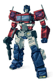Optimus Prime 2015 colours