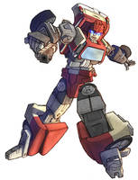 Ironhide in colour by Blitz-Wing