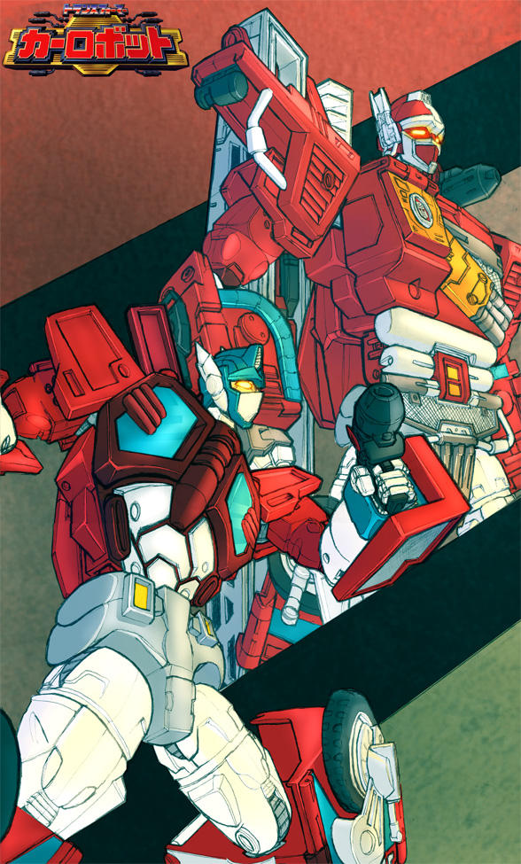 Fire Convoy coloured by Blitz-Wing